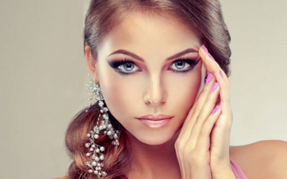 Вечерний макияж в домашних условиях
