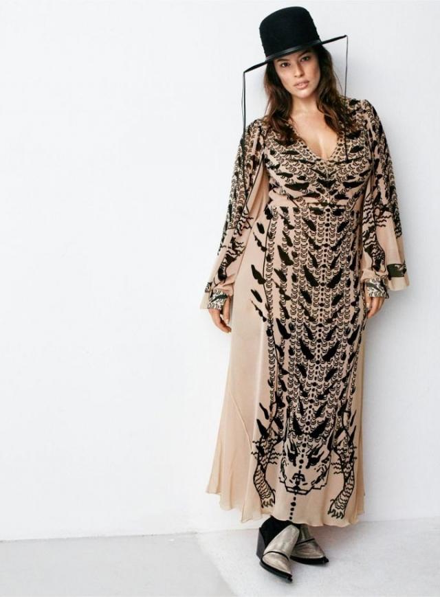 Плюс-сайз модель Эшли Грэм стала лицом новой коллекции H&M