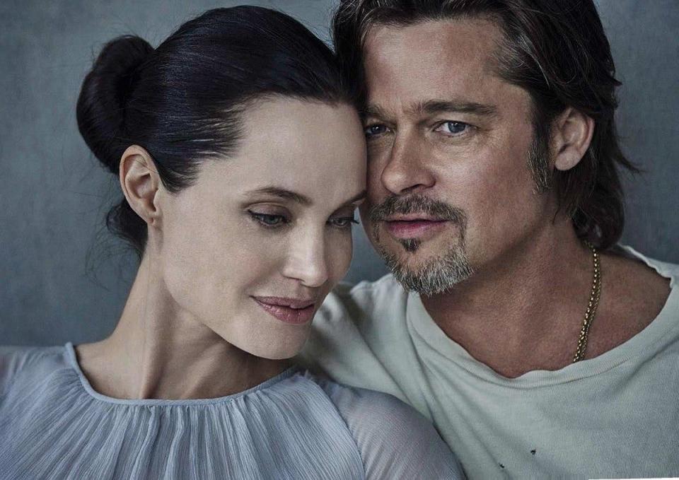 Развод Анджелины Джоли и Брэда Питта: хроника семейной жизни самой красивой пары мира (измена, дети, рак, брачный контракт) - фото №35