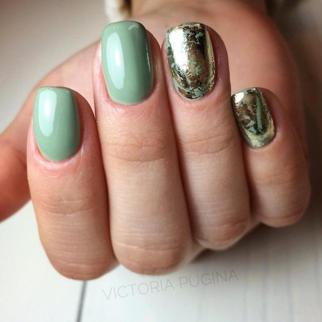 Зимний маникюр: 50 вариантов дизайна ногтей на любой вкус - фото №2