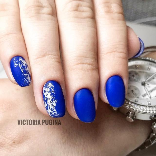 Зимний маникюр: 50 вариантов дизайна ногтей на любой вкус - фото №4