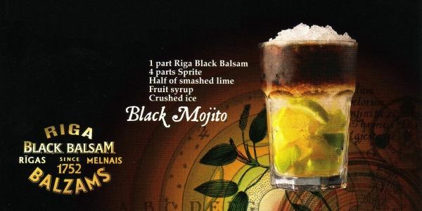 black balsam recept