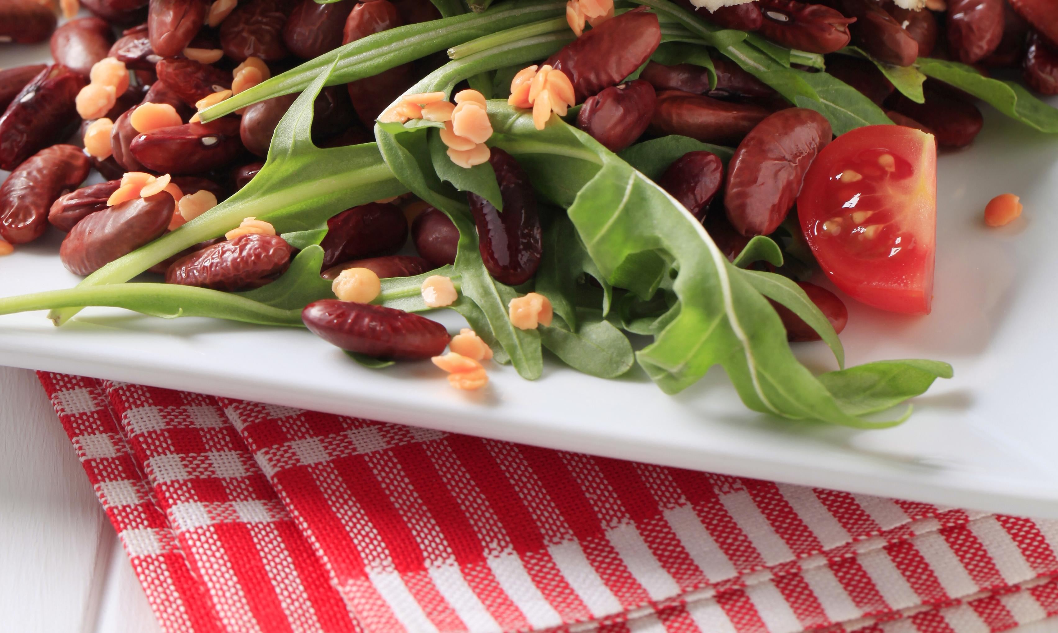 Полезный и вкусный салат с красной фасолью: тосканский рецепт - фото №2