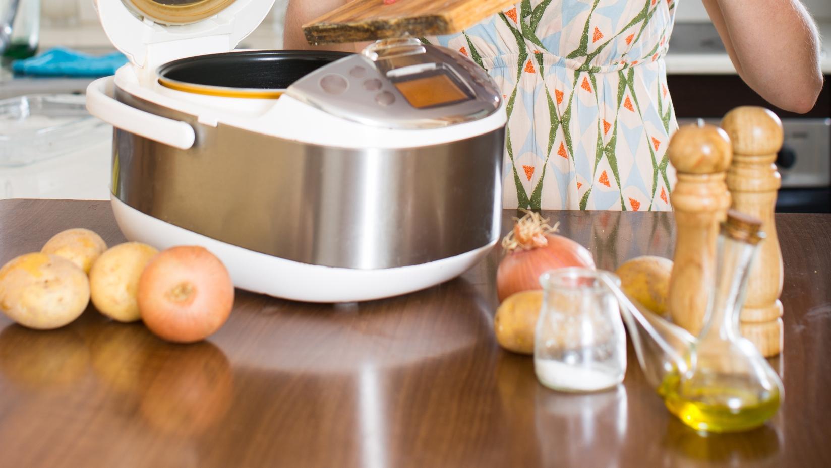 Рецепт для мультиварки: вкусный сырный суп с мясом и грибами - фото №1