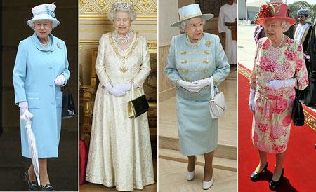 Платье королевы елизаветы