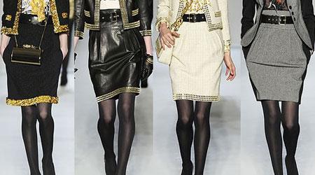 Модные Ли Сейчас Юбки Восьмиклинки