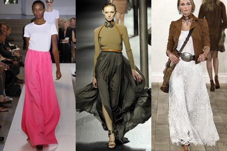 Широкие юбки в стиле lady-like - самый шикарный тренд на весну/лето 2011 года.  Трапециевидная форма юбок подойдет к...