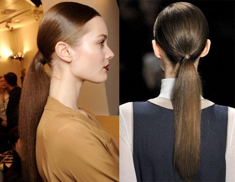 Как сделать хвостик с пробором на голове - Stoi-angar.ru