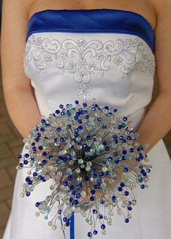 Самые необычные свадебные букеты