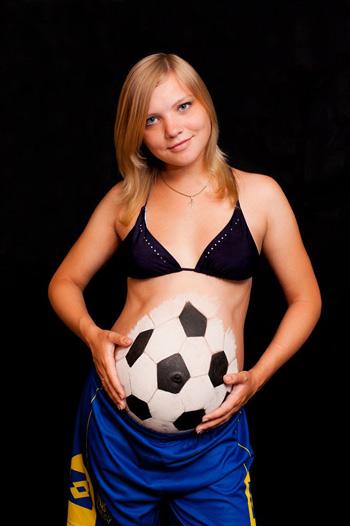рисунки на животе у беременных мордочки фото
