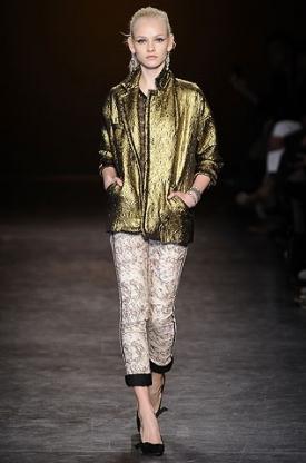 Модные брюки с принтами - тренд сезона осень-зима 2010.