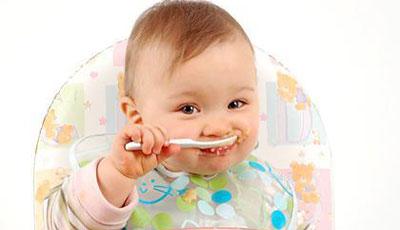 Правильный рацион в первый год ребенка