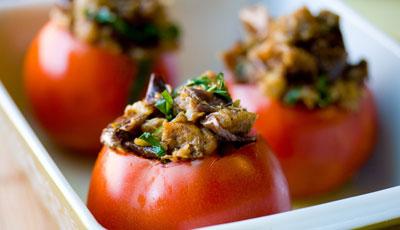 Готовим в пост: помидоры фаршированные