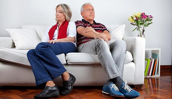 Развод в пожилом возрасте подумал Олвин