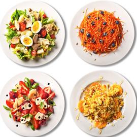 4 рецепта лучших летних салатов