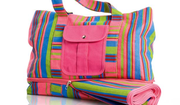 Пляжная сумка-коврик мастер класс