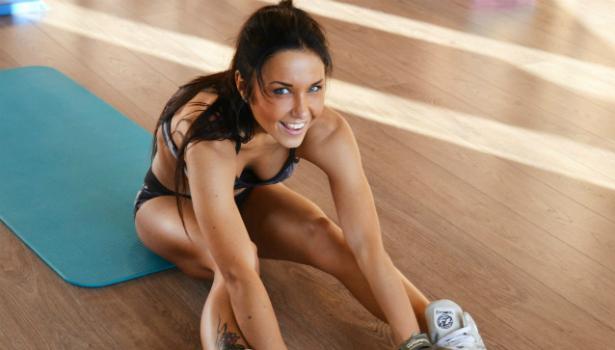 Сушка мышц: упражнения и меню