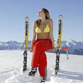 Снежный фитнес. Как худеют Снегурочки