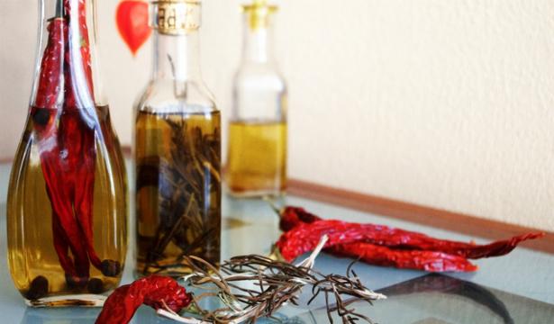 Как сделать растительное масло с перцем
