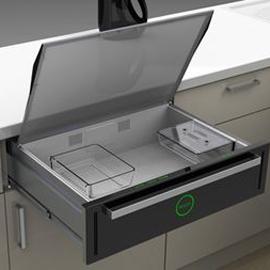 Идея: микроволновка в ящике стола