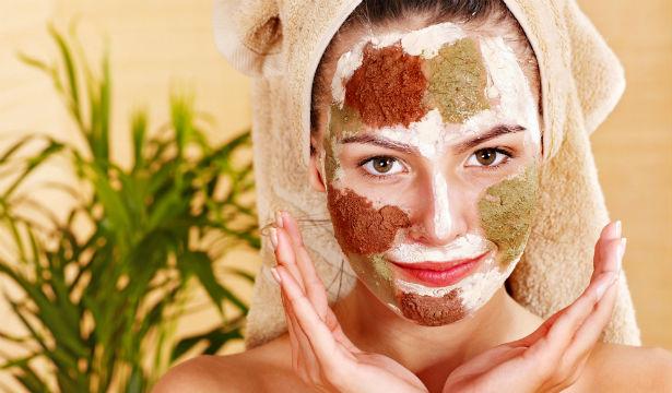 домашние маски против черных точек на лице