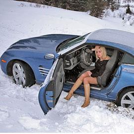 Леди за рулем зимой. Что нужно знать?