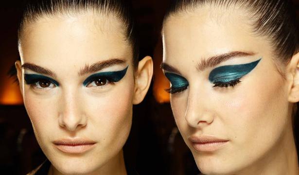 Красота с подиума: макияж Versace