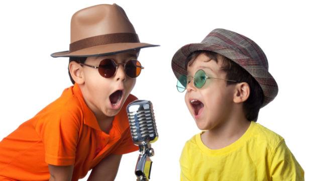 поющие дети фото