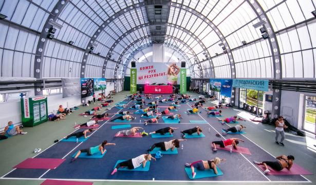Cостоялась ежегодная фитнес-конвенция Nike