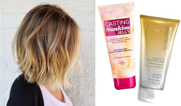 Как осветлить волосы брюнетки в домашних условиях