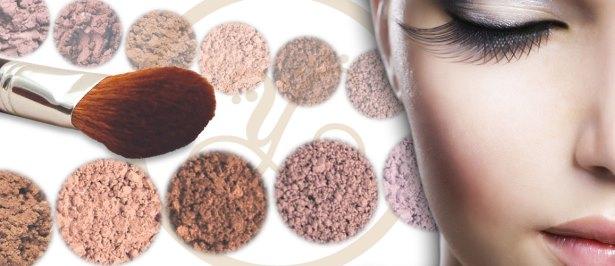 Ингредиенты для минеральной косметики