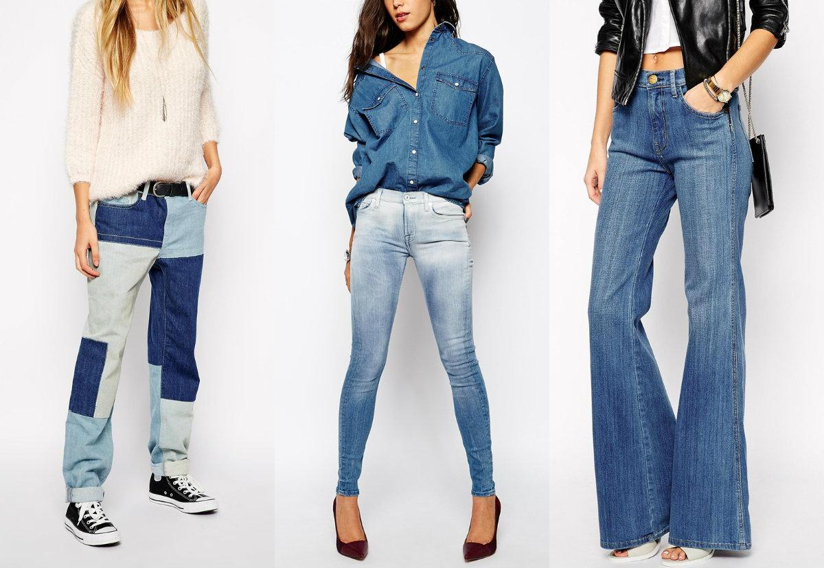 Мода джинсы