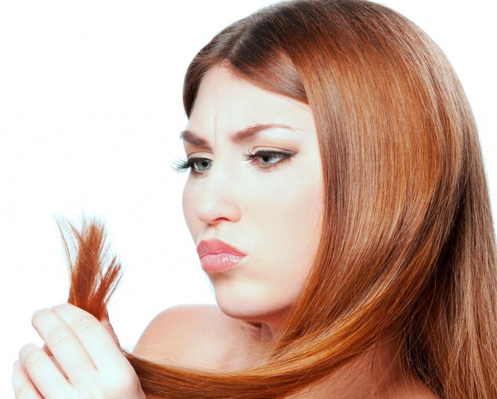 Колят волосы что делать