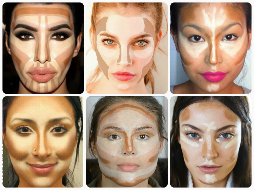 Contour makeup tutorial