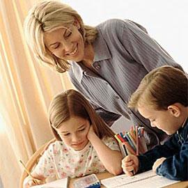 Обучение детей школьного возраста дома