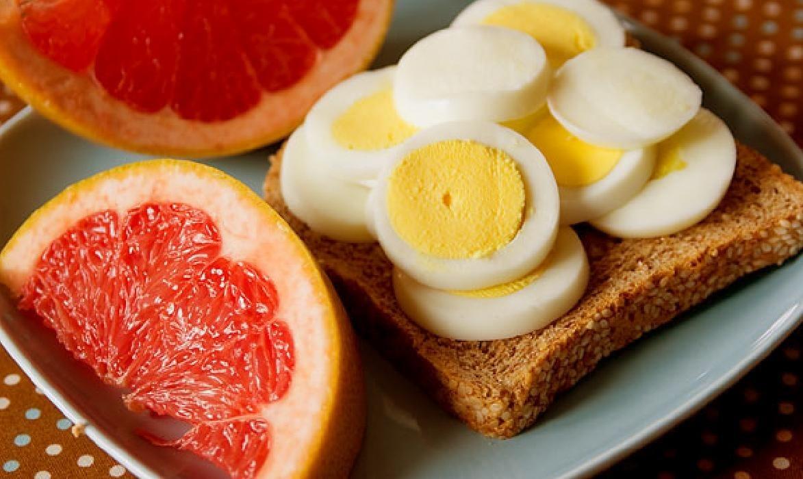 Диета на 4 недели яйца грейпфрут
