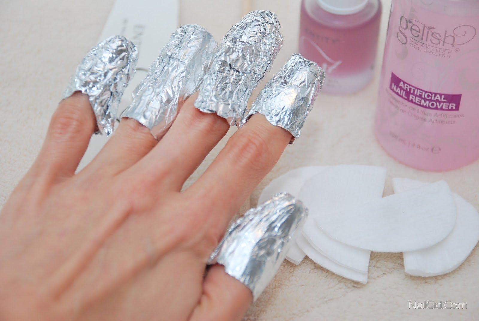 Как снять гель лак с ногтей в домашних условиях без фольги