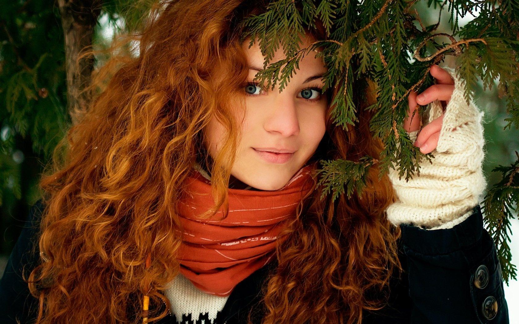Рыжей девушке массаж 12 фотография