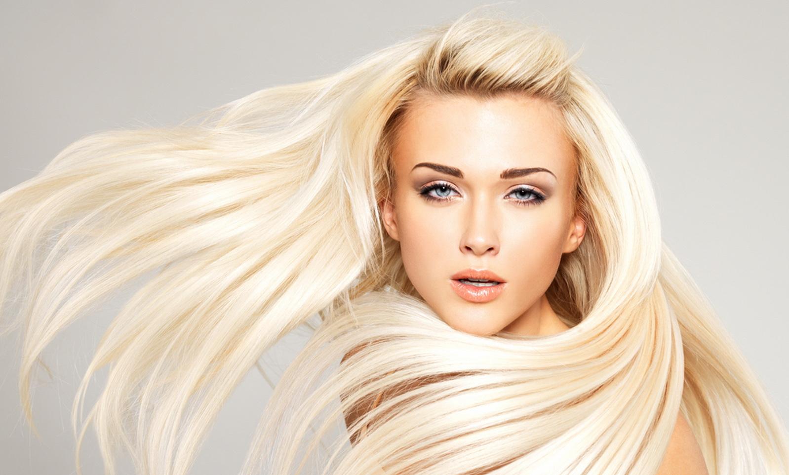 как правильно красить корни волос блондинкам в домашних условиях