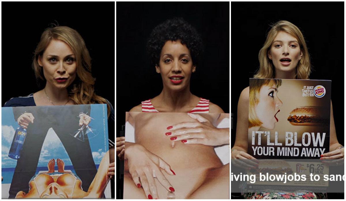 Осторожно, сексизм: женщины раскрыли настоящий смысл рекламных кампаний