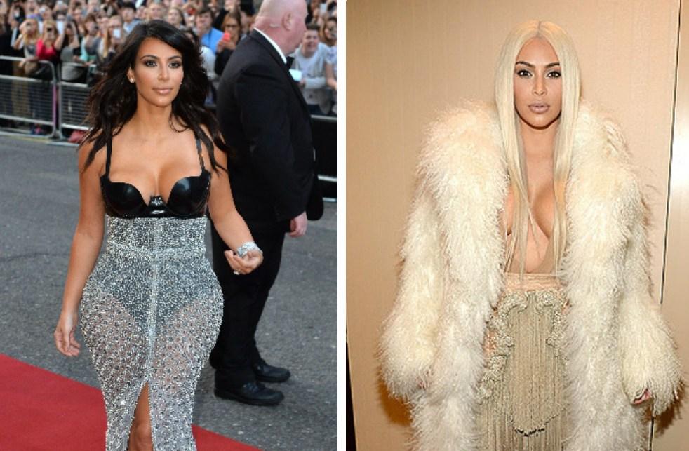 Ким Кардашьян: блондинки против брюнеток. Голосование