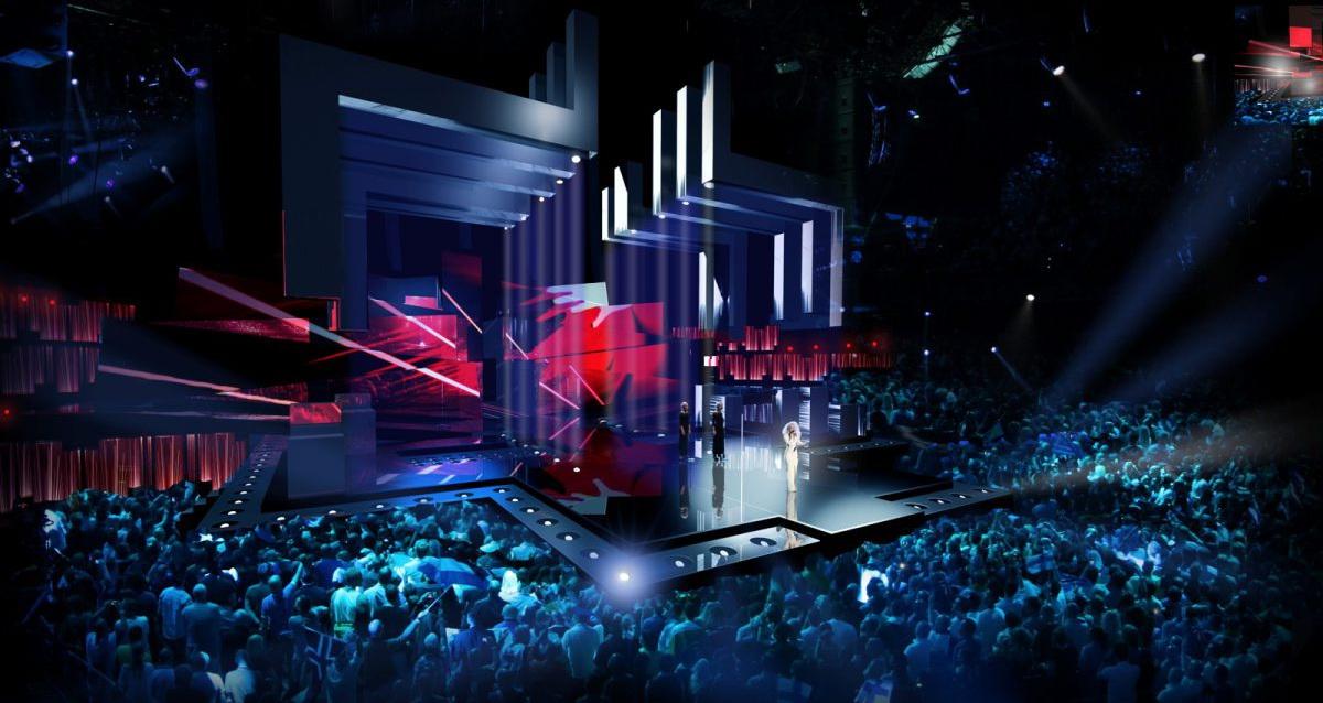 """Евровидение-2016: организаторы конкурса в Стокгольме показали уникальную """"безграничную"""" сцену"""