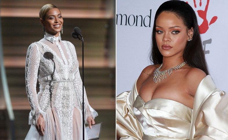 Грэмми 2016: почему не приехала Рианна и свадебное платье Бейонсе