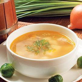 Густой куриный суп: сытный и легкий!