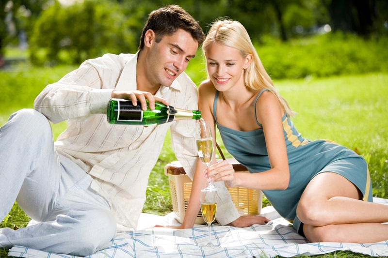 Свадьба на природе отдых