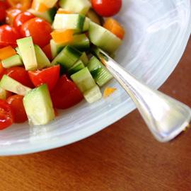 Топ-7 весенних салатов для похудения