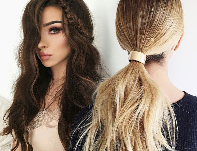 Модные прически своими руками 2016 женские на средние волосы фото