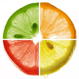 Особенности разноцветного питания