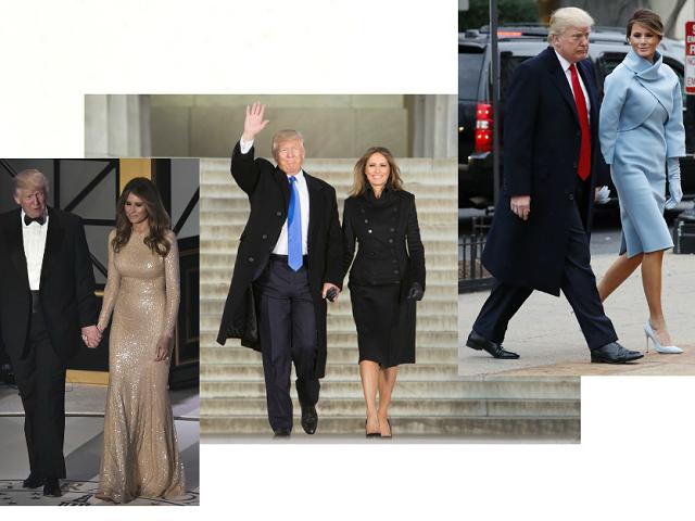 Инаугурация трампа наряд мелании