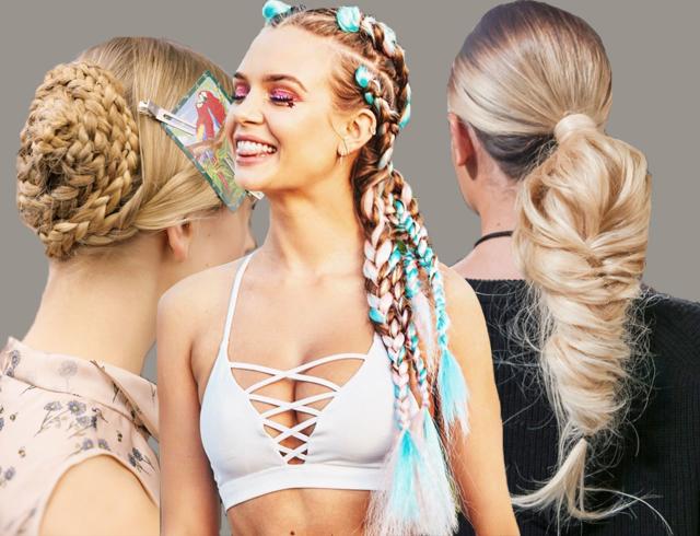 как плести модные прически 2012